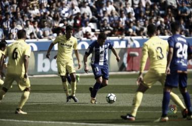 El Villarreal visitó Mendizorroza en la cuarta jornada / Foto: LaLiga