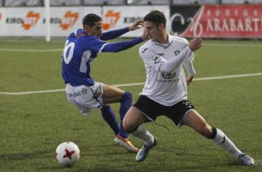 En el partido de ida, Gernika 0-1 UDL | Foto: mundodeportivo,com