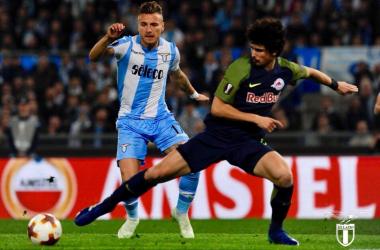 Europa League Lazio Salisburgo - Foto Ss Lazio Twitter