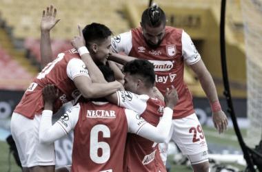 Agónico triunfo de Independiente Santa Fe