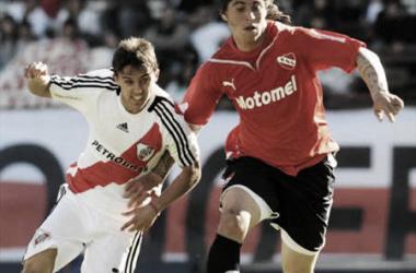 La ùltima vez que Independiente gano en el Monumental, en 2009. Foto: Futbol Argentino