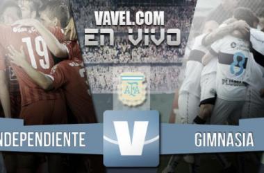 Resultado Independiente - Gimnasia 2015 (1-1)