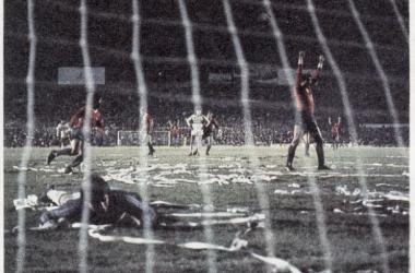 Independiente ganaba el encuentro, para luego más tarde conquistar su última Copa Libertadores. Foto: Archivo Web