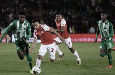 Independiente Santa Fe empató con Atlético Nacional en la última fecha