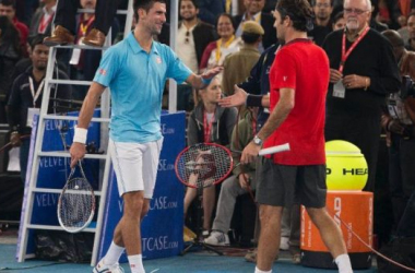 Federer and Djokovic are expected to entertain the audiences of the Lion City; (The Associated Press)