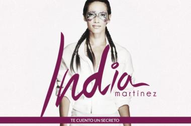 India Martínez y el título de su nuevo disco. (Foto (sin efecto):web oficial splash.indiamartinez).