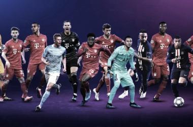 Uefa divulga listas de indicados aos prêmios por posição da Champions League 2019-20