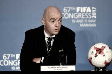 Infantino, presidente de la FIFA / Foto: FIFA.com