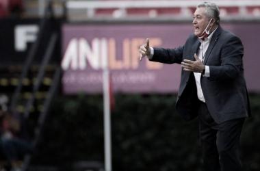 """Víctor Manuel Vucetich: """"El resultado es vital y la forma es buena"""""""