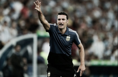 """Lionel Scaloni: """"Levantar dos veces el resultado es muy positivo"""""""