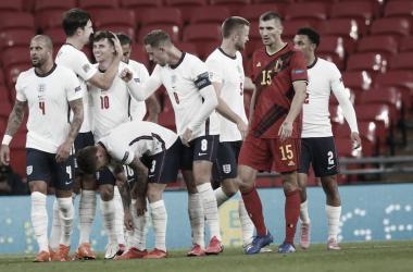 Inglaterra faz lição de casa e provoca primeira derrota da Bélgica na Nations League