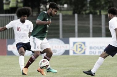 Inglaterra U21 no puede con México U21 en el torneo de Toulon