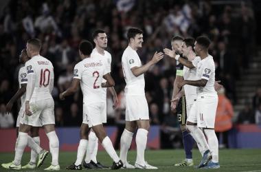 Triunfo de Inglaterra ante Kosovo. Foto: Inglaterra.
