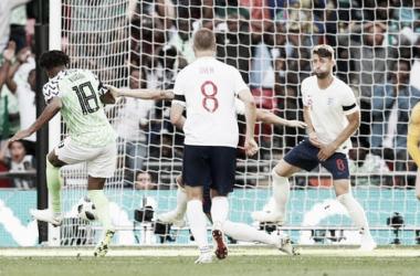 Iwobi marcó el gol del descuento para Nigeria. Foto: Reuters.