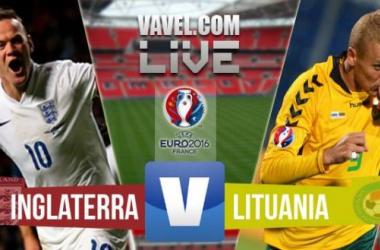 Jogo Inglaterra x Lituânia   pelas Eliminatórias da Eurocopa 2016 (4-0)