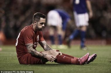 Ings no ha debutado en la Premier League esta temporada. Foto: Liverpool