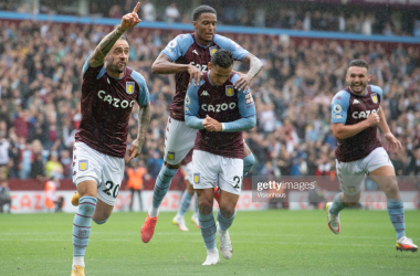 Danny Ings celebrates a wonder goal on his home debut (Photo by Visionhaus/Getty Images)