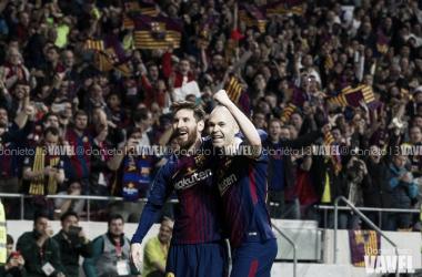 Messi e Iniesta, una dupla que sigue viva