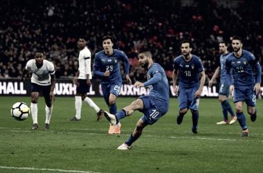 La Italia de Insigne y diez más sobrevive ante Inglaterra