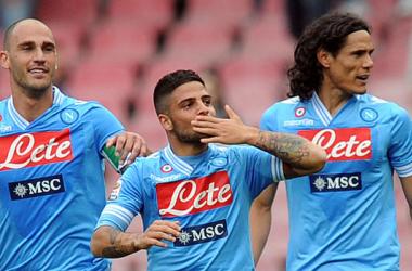 De virada, Napoli bate Cagliari em jogo emocionante