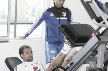 Federico Insúa y Fabián Vargas, en incógnita para el próximo juego.
