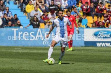 Pablo Insua en un partido con el C.D. Leganés | Imagen: CD Leganés