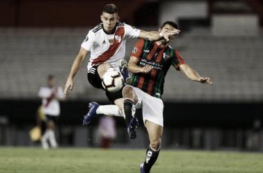 En la fecha anterior, River empató 0-0 con Palestino en el Monumental a puertas cerradas.