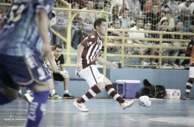 A Intelli/Orlândia de Vinicius (foto) estreou na Liga Futsal vencendo o Tambasa/Minas por 4 a 1 (Foto: Márcio Damião)
