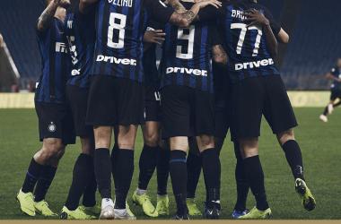 Serie A- Un'Inter fantastica cala il tris alla Lazio grazie ad Icardi e aggancia il Napoli al secondo posto (0-3)