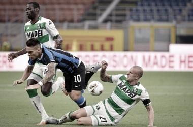 Com final emocionante, Internazionale desperdiça vantagem e fica no empate com Sassuolo