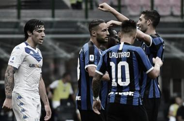 Sem dó nem piedade! Internazionale massacra Brescia pelo Campeonato Italiano