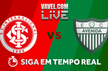 Resultado Internacional x Avenida pelo Campeonato Gaúcho 2018 (3-0)