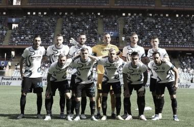 Sampdoria - Inter de Milán de la jornada 3 de la Serie A 21/22. Fotografía: Inter de Milán.