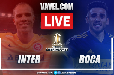 Resumen: Internacional vs Boca (0-1) en Copa Libertadores