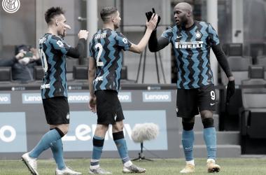Lautaro Martínez e Lukaku dão show em goleada da Internazionale sobre Crotone