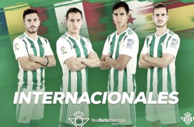 ¿Cómo le ha ido a los internacionales del Real Betis?