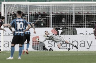 Goleiro Handanovic ressalta necessidade de equilíbrio da Internazionale