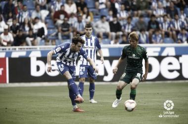 Deportivo Alavés - Real Betis: el salto en la tabla pasa por Mendizorroza