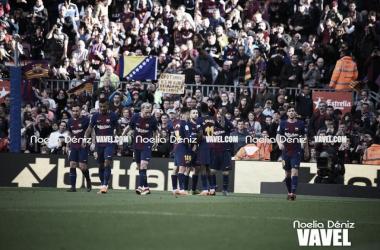 El Barça, a un partido de igualar un récord de finales de los setenta   Foto: Noelia Déniz (VAVEL.com)