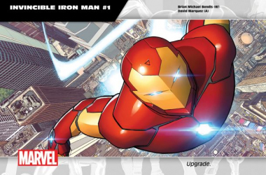 "Iron Man is among the many comics getting a new book with new writers and artists. Image source ""heouthousers.com"""