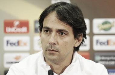 """Simone Inzaghi: """"Esta noche quedará para el recuerdo de nuestros aficionados"""""""