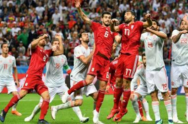 Irán - España, puntuaciones de Irán jornada 2 Mundial Rusia 2018 | Foto: AFP.