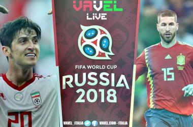 Diretta Iran - Spagna, live Mondiali Russia 2018