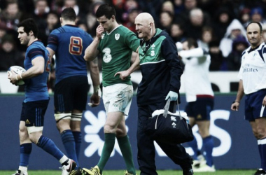 More injury woes: Ireland haven't had any luck so far this tournament (photo: skysports.com)