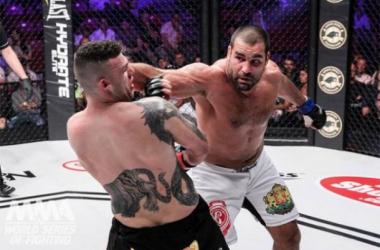 Blagoi Ivanov captures the WSOF Heavyweight Chamnpionship at WSOF 21/Sportscombatnews.com