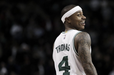 Isaiah Thomas has enjoyed a rapid rise to the top. | USA TODAY Sports