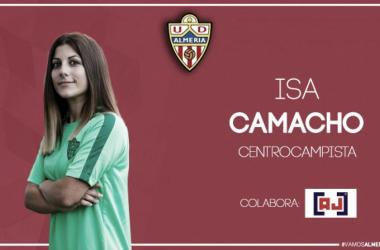 Isa Camacho | Fuente: UD Almería