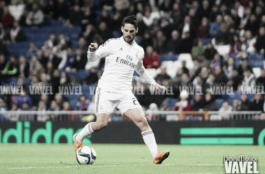 Segundo gol de cabeza de Isco con el Real Madrid