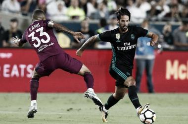 Isco en un partido de la última ICP en verano 2018 / Foto: Real Madrid
