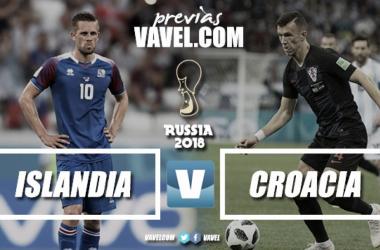 Com necessidade da vitória para buscar vaga nas oitavas, Islândia enfrenta já classificada Croácia